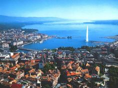 Geneva, Switzerland. Home of the United Nations and World Health Organization.