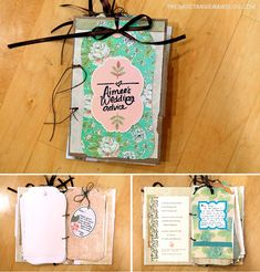 Advice book - bridal shower idea not sure if there is enough time for this......