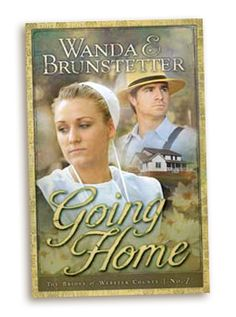 "In my Brides of Webster County series, Book 1 is called ""Going Home."" It's about a young woman who left the Amish faith when she was a teenager and returns home several years later after her husband dies."