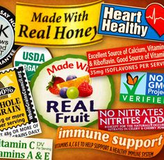Ever confused about Food Labels, Nutrition Facts and Ingredients? This helps clear up some of that!
