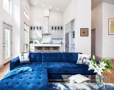 The gorgeous Jane Bisectional Sofa by Gus Modern. SWOON. Find this style and more at www.smartfurniture.com!