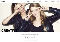 Keen is a responsive WordPress theme for #minimal loving #photography #website. Download Now!