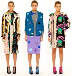 Tata Naka Autumn Winter 2014/2015 (Matisse inspired) pre collection