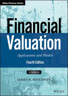 Resultado de imagen de Financial valuation : applications and models, + website / James R. Hitchner
