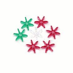 Starflake Beads - 12mm - 1,000 pcs  www.bergerbeads.net  $9.50