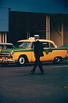 Saul Leiter. Nueva York 1950's