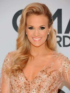 Want Carrie Underwood's CMA hairstyle? So do we. Click to get the look!