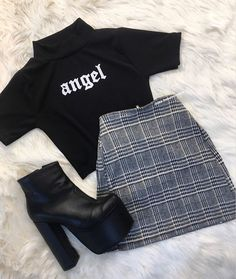 clothes for women,casual outfits,base layer clothing,casual outfits Cute Casual Outfits, Edgy Outfits, Grunge Outfits, Korean Outfits, Retro Outfits, Mode Outfits, Vintage Outfits, Teen Fashion Outfits, Cute Fashion