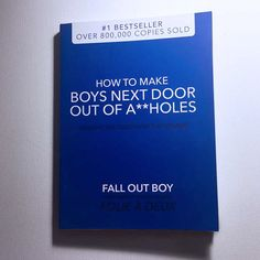 They could write down their innermost thoughts in this Fall Out Boy themed notebook.