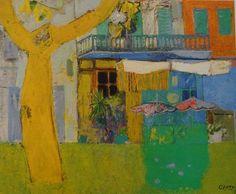 Wim Oepts (Dutch, 1904-1988), Dorpcafe, 1954