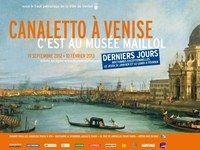 Voir ou revoir Venise à travers l'œuvre de Canaletto jusqu'au 10 février 2013 au musée Maillol : derniers jours !