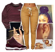 ayye this cute❤️ by aribearie on Polyvore featuring polyvore, fashion, style and clothing