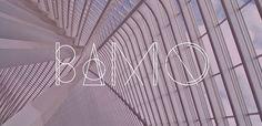 Bamq geometric font. See more fonts like this at www.designyourownblog.com