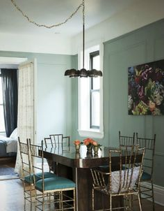 decorology: An East Village apartment by the Novogratz - A home with a vintage and scholarly air...