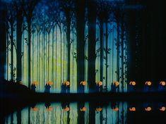 Still at the end of Night on Bald Mountain, Ave Maria. Walt Disney's Fantasia. | via Imdb