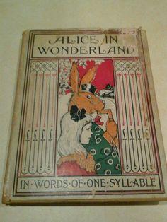 wonderland collect, bedtim stori, alice in wonderland, edit 1905, wonderland book