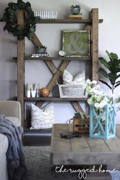 DIY Four Hands Home Inspired Shelf, Easy To Build Shelf, Save a Thousand Dollars and Build This Shelf for 60 in 6 hours