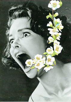 Ben Giles, Collage art. Paper art.