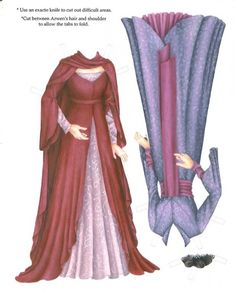 Arwen3 * 1500 free paper dolls at Arielle Gabriels The International Paper Doll Society also free paper dolls The China Adventures of Arielle Gabriel *