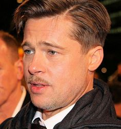 Brad Pitt Hairstyles New Pinjesse Rey On Hairstyles  Pinterest  Brad Pitt Brad Pitt