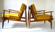 Mid Century Modern Danish Chair Desk For Sale Pair Lounge Chairs Sold