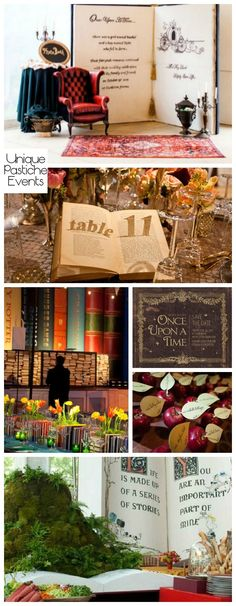 Once Upon a Time Storybook Gala Ideas                                                                                                                                                                                 More