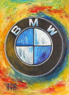 Bmw - The Ultimate Driving Machine Painting