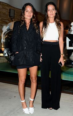 O estilo das irmãs Chloe e Marielou Bartoli.