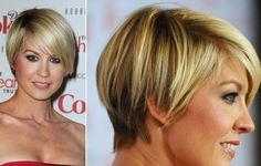 Short haircut layers Jenna Elfman - Jenna Elfman - Zimbio