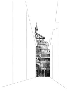 Exhibited at The Pastel Society Annual Exhibition Cremona Cathedral measures 86 x 66 cm and is available for Architecture Drawing Art, Conceptual Architecture, Italy Architecture, Exeter Cathedral, Milan Cathedral, Pantheon Paris, Glasgow School Of Art, Architectural Prints, Drawing Projects