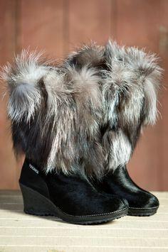 Tecnica Innsbruck Fox Fur Boots #54915