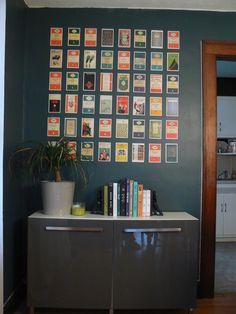 My Little House: DIY Postcard Wall Art