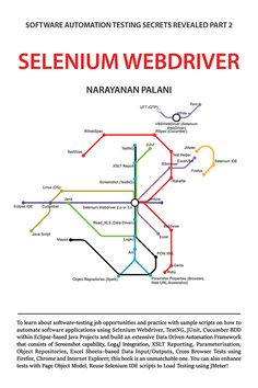 Buy Book Selenium Webdriver - Software Automation Testing Secrets Revealed Part 2 by Narayanan Palani at Discount Rate. Latest Technology Gadgets, Medical Technology, Energy Technology, Software Testing, Software Development, Selenium Software, Cloud Infrastructure, Secrets Revealed, Interview Questions