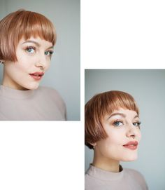 peachy I have peach hair! I was stopped by a girl wondering if I wanted to hair model in exchange for free coloring and cutting. Hair Inspo, Hair Inspiration, Short Hair Cuts, Short Hair Styles, Girls Hairdos, Peach Hair, Pelo Pixie, Short Bob Hairstyles, Haircuts