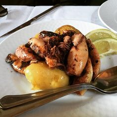 Unexpected grilled squid !!!delicious