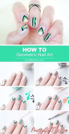 @prettygirltips Negative Space Nails