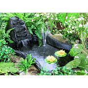 1000 images about backyard simple water features on for Preformed pond kits