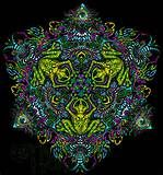 Psychedelic Art Grey Free Stock Photo - Public Domain Pictures