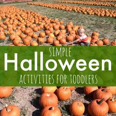 Toddler Approved!: Simple Halloween Activities for Toddlers