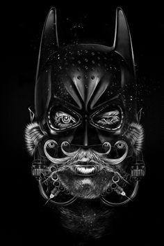 FANTASMAGORIK® BAT COMICS FACES by obery nicolas, via Behance