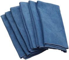 Amazon.com - DII Kitchen Millenium Microfiber Kitchen Towel Set of 6, Blue #AmazonCart #DII #DesignImports