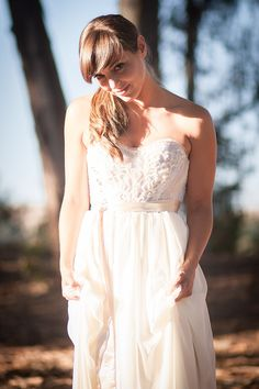 Romantic Bustier Sequenced and Rhinestone Wedding Dress