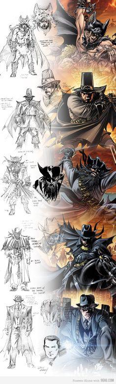 Batman through the ages...