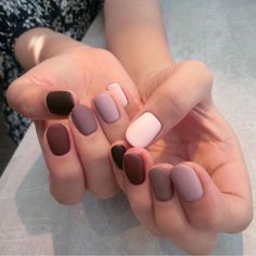Extend fashion to your nails with nail art designs. Worn by fashion-forward celebrities, these types of nail designs will add instant charm to your wardrobe. Nail Art Designs, Colorful Nail Designs, Nails Design, Salon Design, Unique Nail Designs, Matte Nail Art, Acrylic Nails, Gradient Nails, Coffin Nails