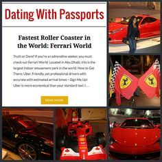 Learn more about my time at Ferrari World in Abu Dhabi at www.datingwithpassports.com  #DWPassports #DatingWithPassports