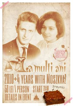 Happy New Year's Eve 2014 party @ Moszkva Cafe #Oradea  Poster design by Domokos Zsolt