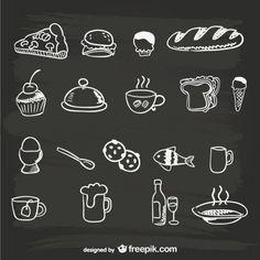 Selección de más de cien recursos gratuitos para restaurantes como vectores, ilustraciones, o plantillas y carteles. ¿Te lo vas a perder? | https://lomejordelaweb.es/