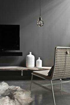 ♂ Minimalist modern black and white interior design home HK Living love the minimalism Black And White Interior, White Interior Design, Contemporary Interior, Interior Styling, Dark Interiors, Interiores Design, Interior Inspiration, Room Inspiration, Home And Living