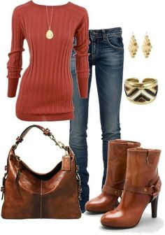Like whole outfit and color combination. Probably would need a layering piece over a top like this to hide the belly.