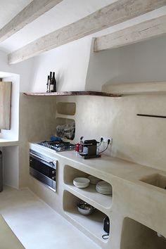 Wonderful Farmhouse Kitchen Ideas Design With Rustic - Kitchen Design Archives 2019 Rustic Design, Rustic Decor, Rustic Backdrop, Rustic Theme, Modern Design, Home Design, Interior Design, Tadelakt, Concrete Kitchen